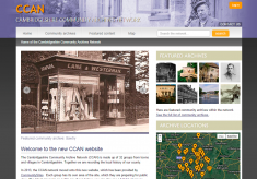 Cambridgeshire Community Archive Network (CCAN)