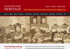 Gloucester Rugby Heritage