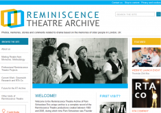 Reminiscence Theatre Archive