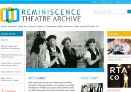 Reminiscence Theatre Archive