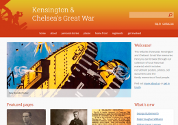 Kensington & Chelsea's Great War