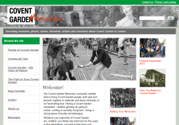 Covent Garden Memories
