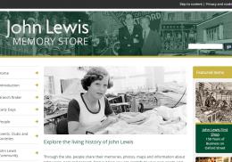 John Lewis Memory Store