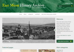 East Meon History Archive