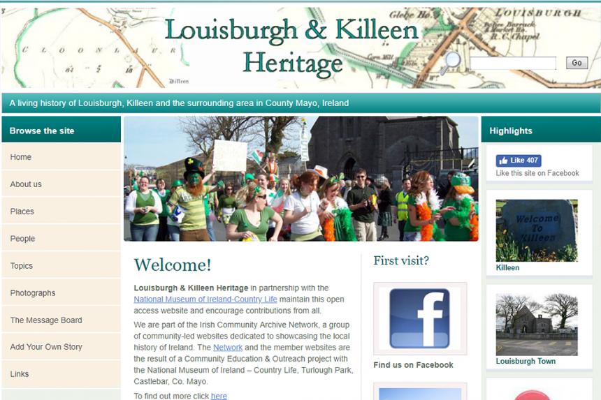 Louisburgh & Killeen Heritage