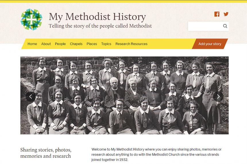 My Methodist History