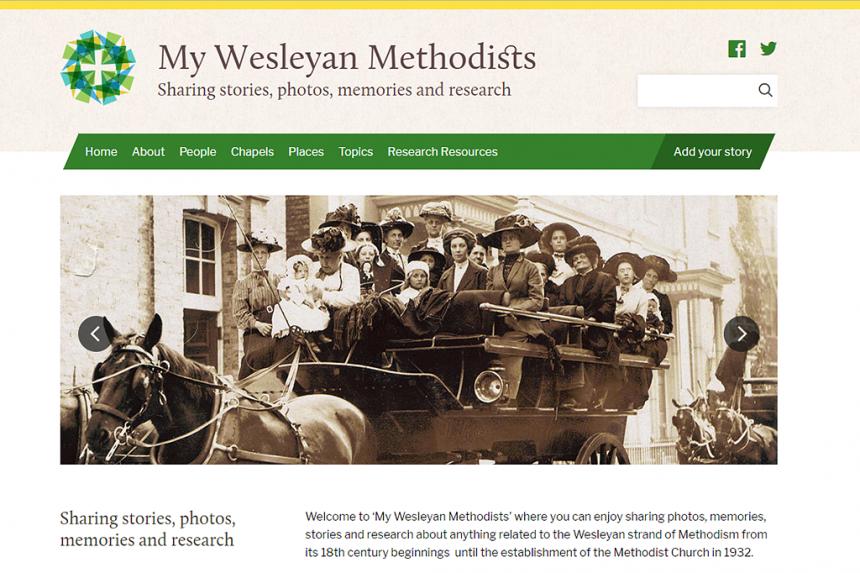 My Wesleyan Methodist Ancestors