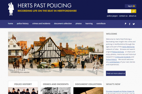 Herts Past Policing