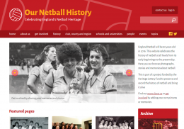 Our Netball History