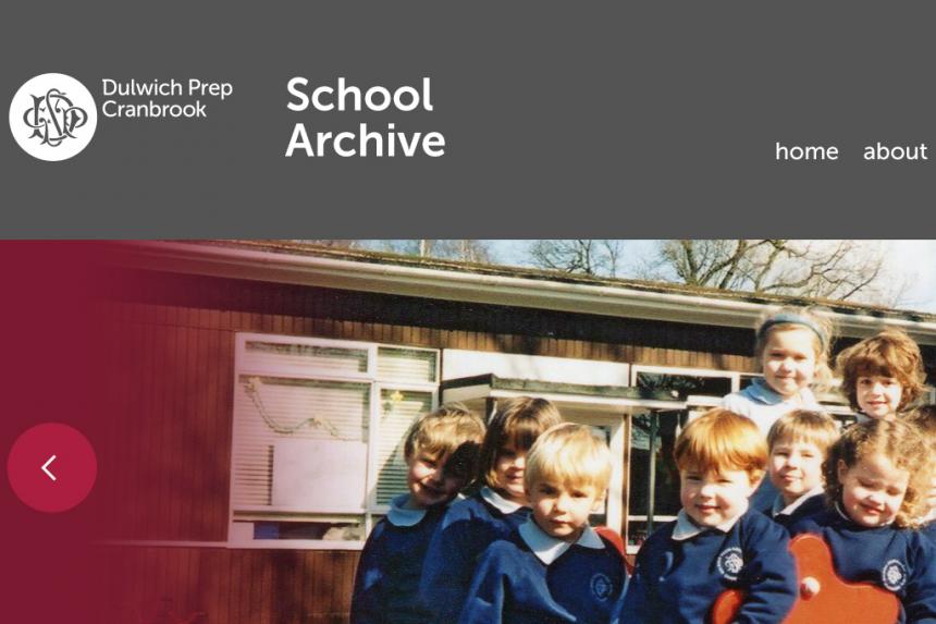 Dulwich Prep Cranbrook School Archive
