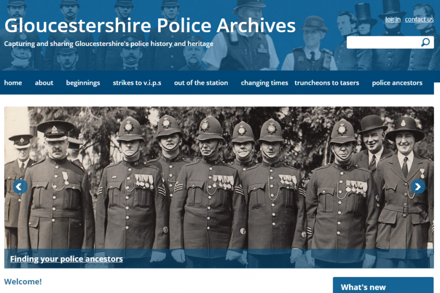 Gloucestershire Police Archives