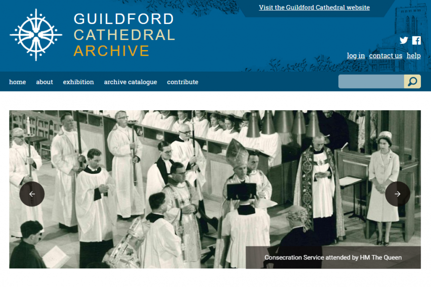 Guildford Cathedral Archive