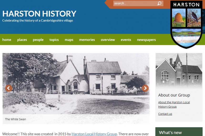 Harston History