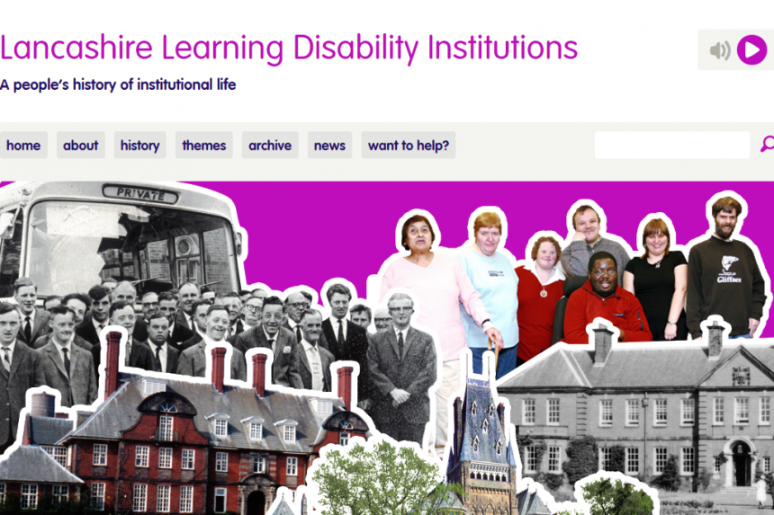 Lancashire Learning Disability Institutions