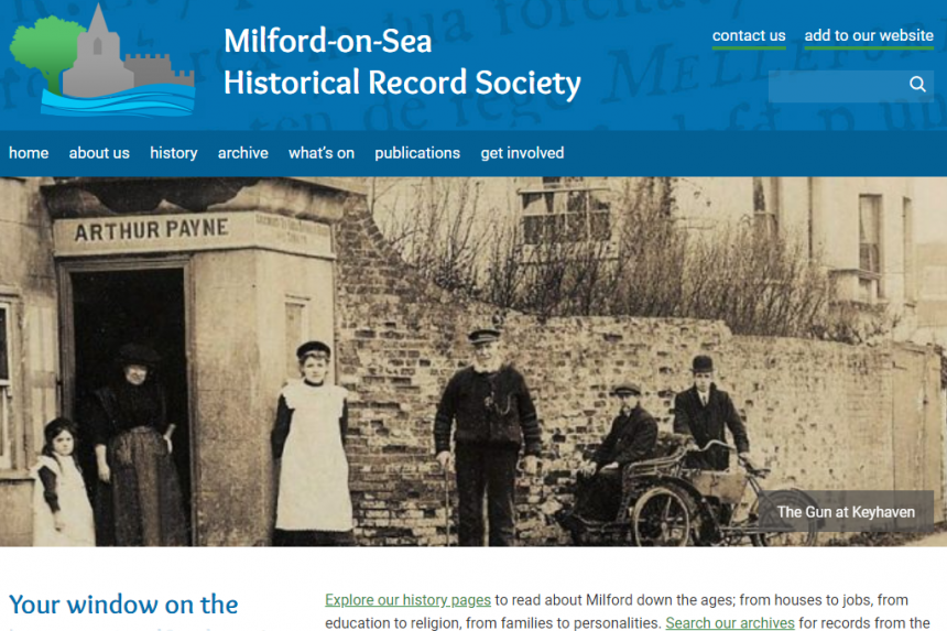 Milford-on-Sea Historical Record Society