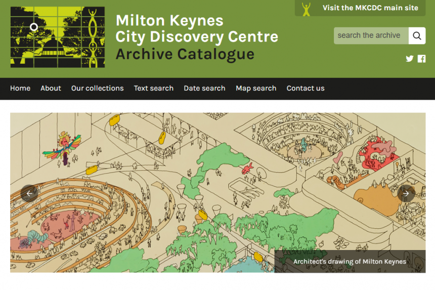 Milton Keynes Discovery Centre Archive Catalogue