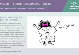 Women in Publishing: An Oral History